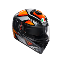 AGV K3 SV E2205 Multi Sakura Svart/Grå/Orange